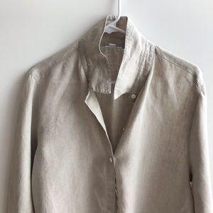 J Jill linen blouse